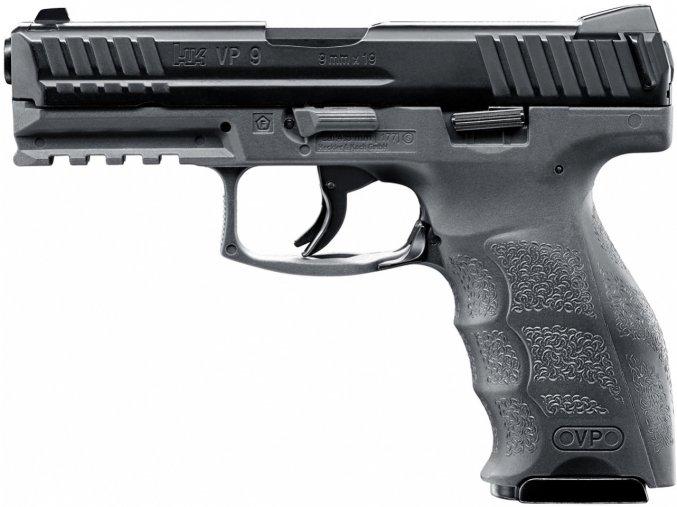 Vzduchová pistole Heckler&Koch VP9 Tungsten Gray BlowBack