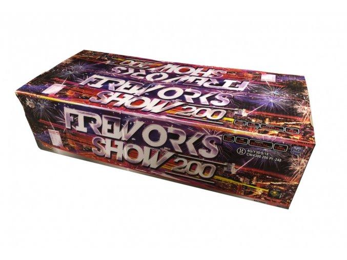 Pyrotechnika Kompakt 200ran / 20,25,30mm Fireworks show 200