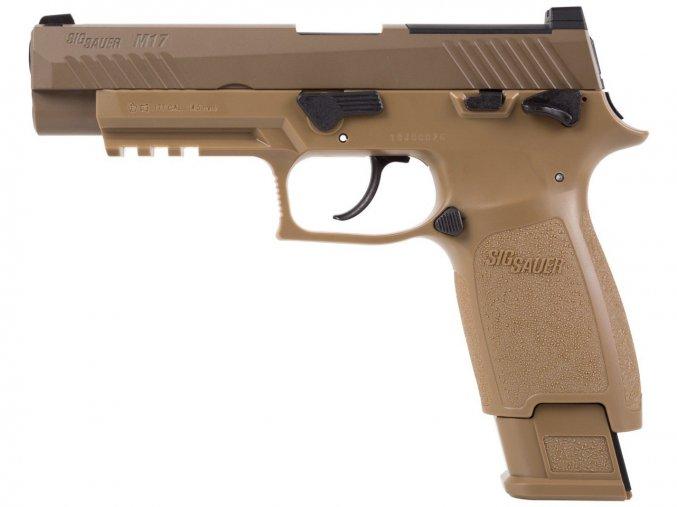 Vzduchová pistole Sig Sauer P320 M17 coyote