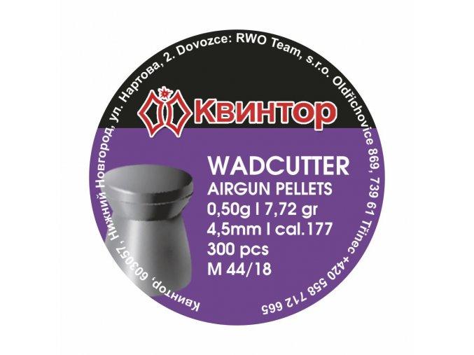 Diabolo Kvintor Wadcutter cal.4,5mm 300ks