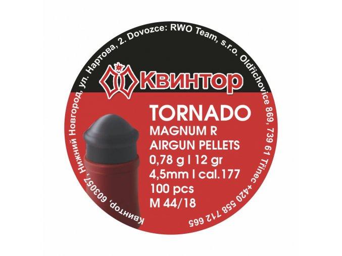 Diabolo Kvintor Tornado Magnum R cal.4,5mm 100ks