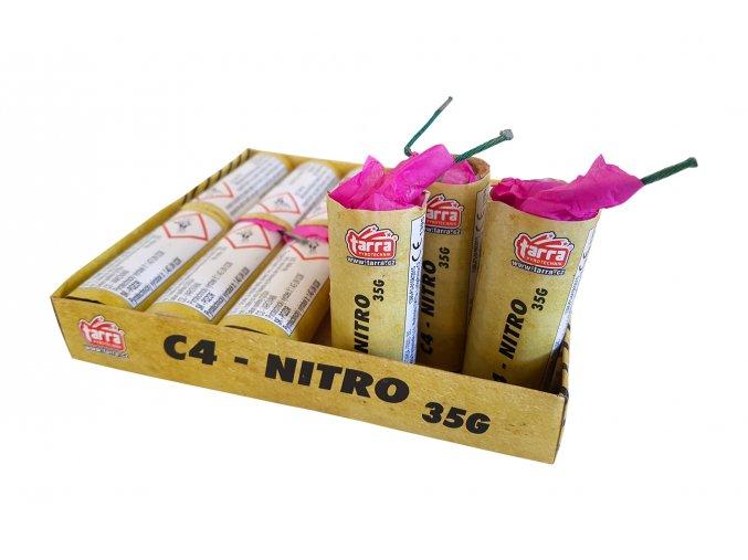 Pyrotechnika Petardy C4 - Nitro 12ks