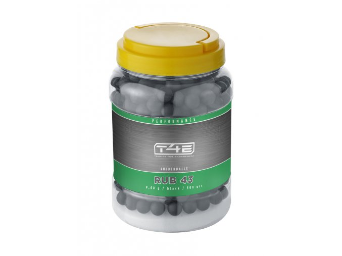 Kuličky T4E Rubber Ball Performance cal.43 0,68g 500ks