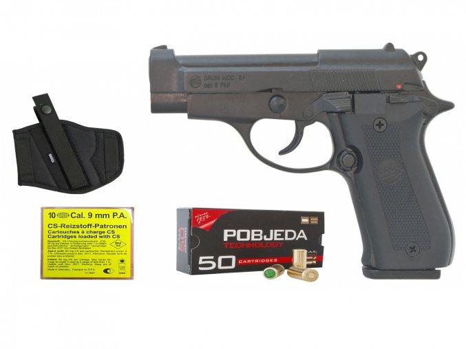 Akční SET plynové pistole Bruni 84