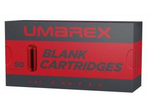 Startovací náboje 8mm pistole 50ks Walther