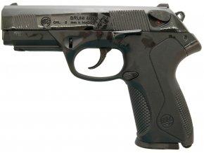 Plynová pistole Bruni P4 černá cal.9mm