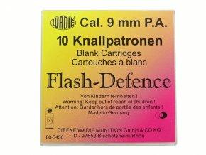 Flash Defence náboje 9mm pistole 10ks