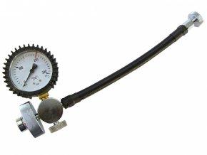 Hadice s manometrem pro přepouštění tlaku