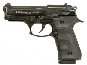 Plynová pistole Ekol Jackal Dual Compact černá cal.9mm