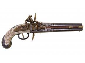 Replika pistole s překlopovacím zámkem