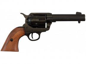Replika Revolver Colt  Peacemaker r.45, USA 1886, černý