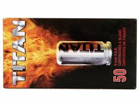 Startovací náboje 9mm pistole 50ks Perfecta Titan