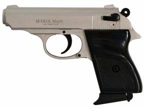 Plynová pistole Ekol Major satén nikl cal.9mm