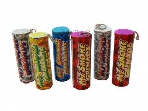 17935 pyrotechnika m7 smoke grenade dymovnice 6 barev