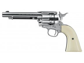 Vzduchový revolver Colt Single Action Army SAA .45 nikl