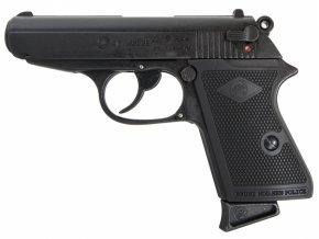 Plynová pistole Bruni NEW Police černá cal.9mm