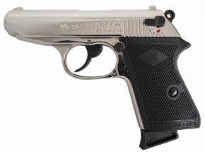 Plynová pistole Bruni New Police chrom cal.9mm