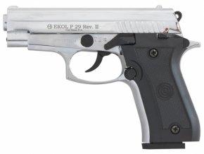 Plynová pistole Ekol P29 REV II chrom cal.9mm