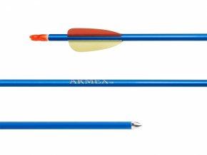 """Šíp duralový 30"""" Armex modrý"""
