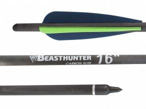 """Šíp carbon 16"""" Beast Hunter Elite HalfMoon 1ks"""