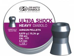 Diabolo JSB Ultra Shock Heavy 350ks cal.4,52mm