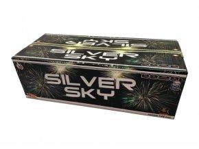 Pyrotechnika Kompakt 128ran / 20,25 mm Silver Sky multikalibr