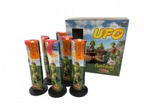 Pyrotechnika Fontána UFO 6ks
