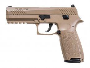 Vzduchová pistole Sig Sauer P320 coyote