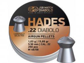 Diabolo JSB Hades 500ks cal.5,5mm