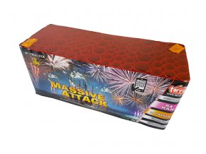 Pyrotechnika Kompakt 84 ran / 30 a 50mm Massive Attack