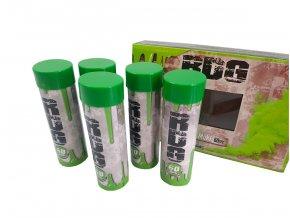 Pyrotechnika Dýmovnice trhací zelená 5ks