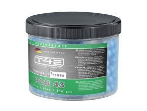 Kuličky T4E Rubber Power Ball cal.43 1,35g 430ks