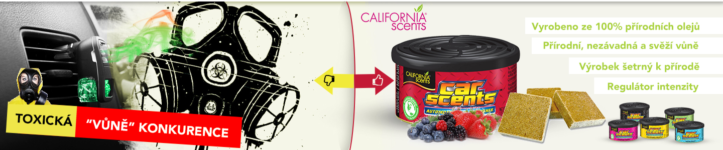 California Scents a konkurence