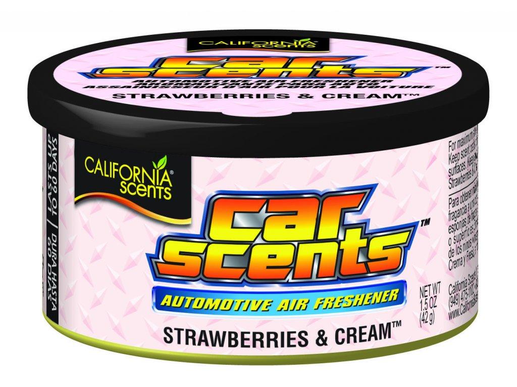 Jahody se šlehačkou - Strawberry & Cream
