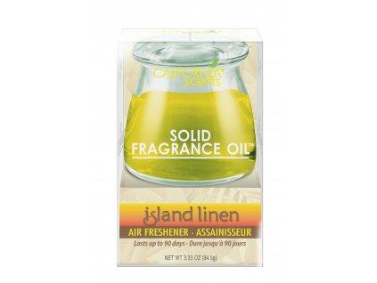 Solid Fragrance Oil Ostrovní kvítí - Island Linen