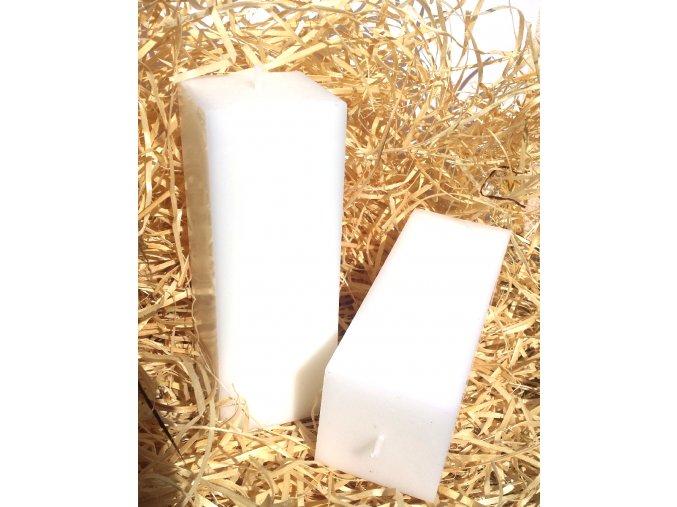 Svíčka kvádr pro vlastní potisk - 16 x 5,7 cm