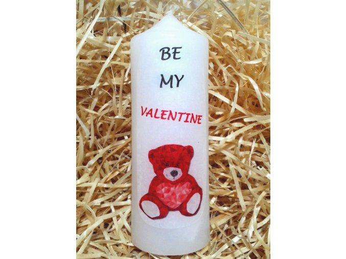 Dárková svíčka s vyznáním lásky - 17 x 6 cm 1