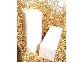 Svíčka kvádr s vůní - 100% éterický olej - 16 x 5,7 cm