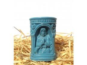 Svíčka - modlící se Ježíš
