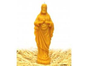 Svíčka ze včelího vosku - Ježíš velký