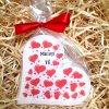 Dárková svíčka k vyznání lásky - srdce 11 cm 1