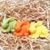 Sada svíček - tři malí velikonoční zajíčci