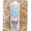 Svíčka s modlitbou - dárkové balení - 17 x 6 cm 3