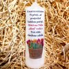 Dárková svíčka s narozeninovým potiskem - 17 x 6 cm 7