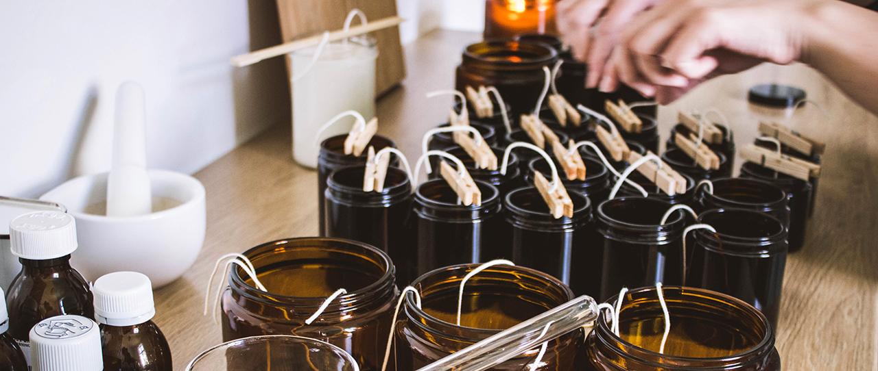 Sojové svíčky