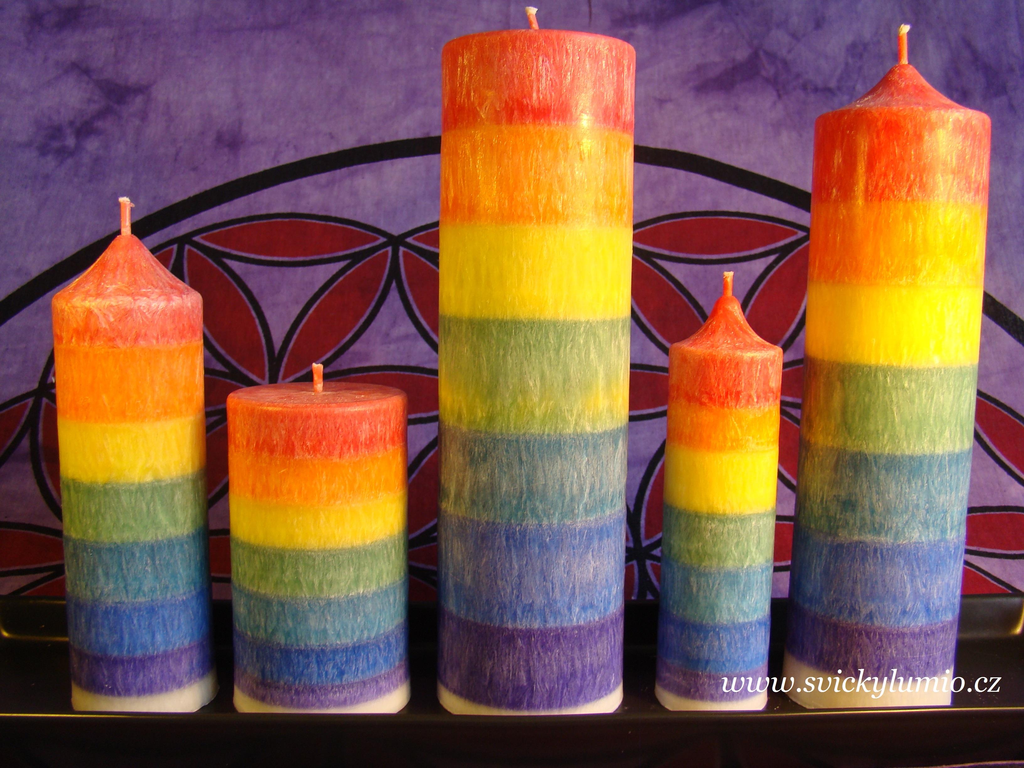 Sedmičakrové svíce