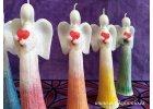 Anděl přání SRDCE 16 cm
