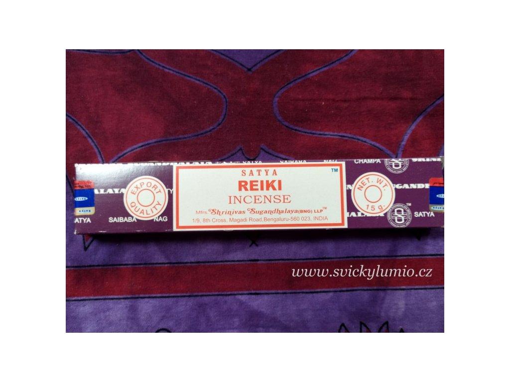 Vonné tyčinky Reiki 15ks