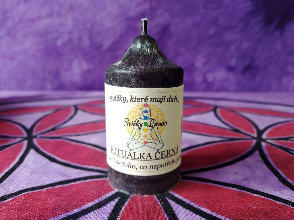 ritualni svice černá 11