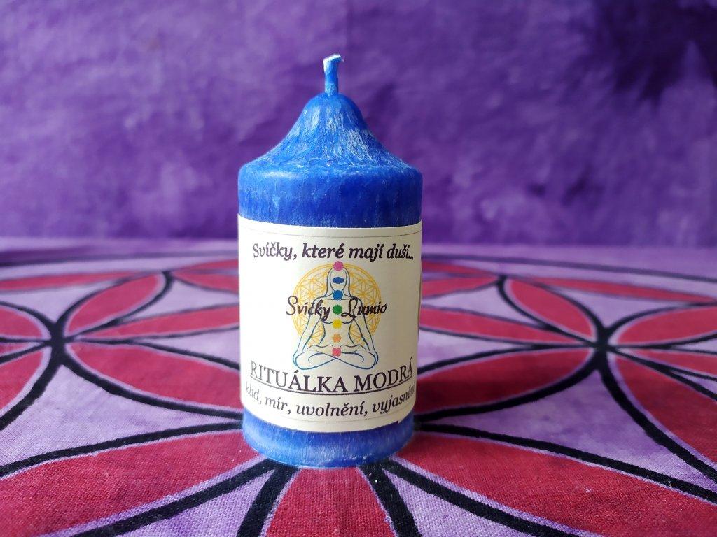 ritualni svice modrá 11